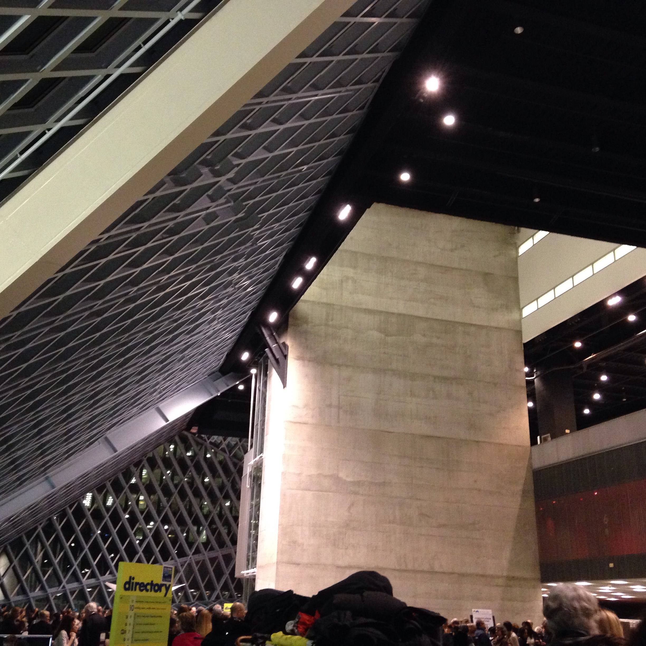 Convocation Reception at Seattle Public Library